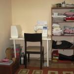 Dikiş odam var artık!