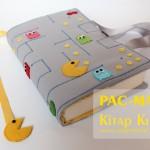 Pac-Man Kitap Kılıfı