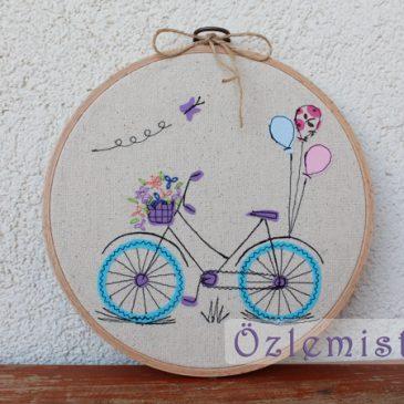 """""""Bisiklet"""" kasnak pano"""