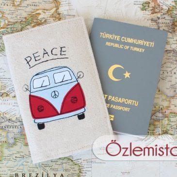 Peace Pasaport Kılıfı