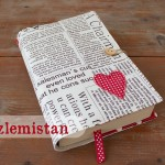 Kalpli Gazete Kitap Kılıfı