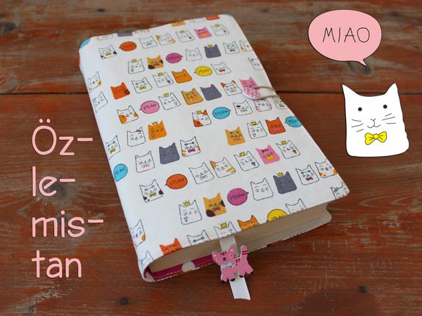 Mini Kediler Kitap Kılıfı Miyav