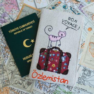 Seyahat Pasaport Kılıfı