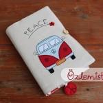 Kırmızı Camper Kitap Kılıfı