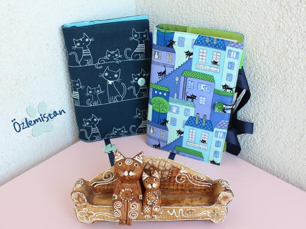 kedili kitap kılıfları